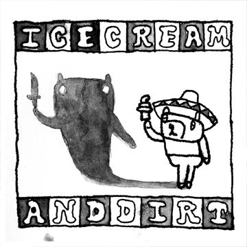 """【New Album】ZOOBOMBS""""Ice Cream & Dirt""""(2016.10.05 On Sale)"""